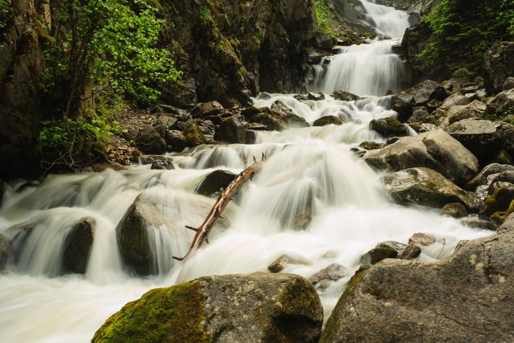 lower reid falls in skagway alaska