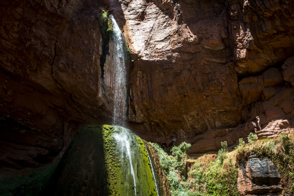 Grand Canyon National Park Ribbon Falls waterfall