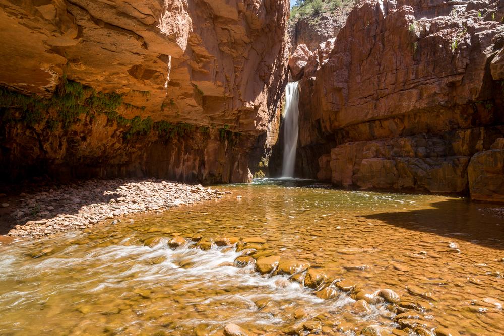 Cibecue Falls and Salt River landscapes in Arizona