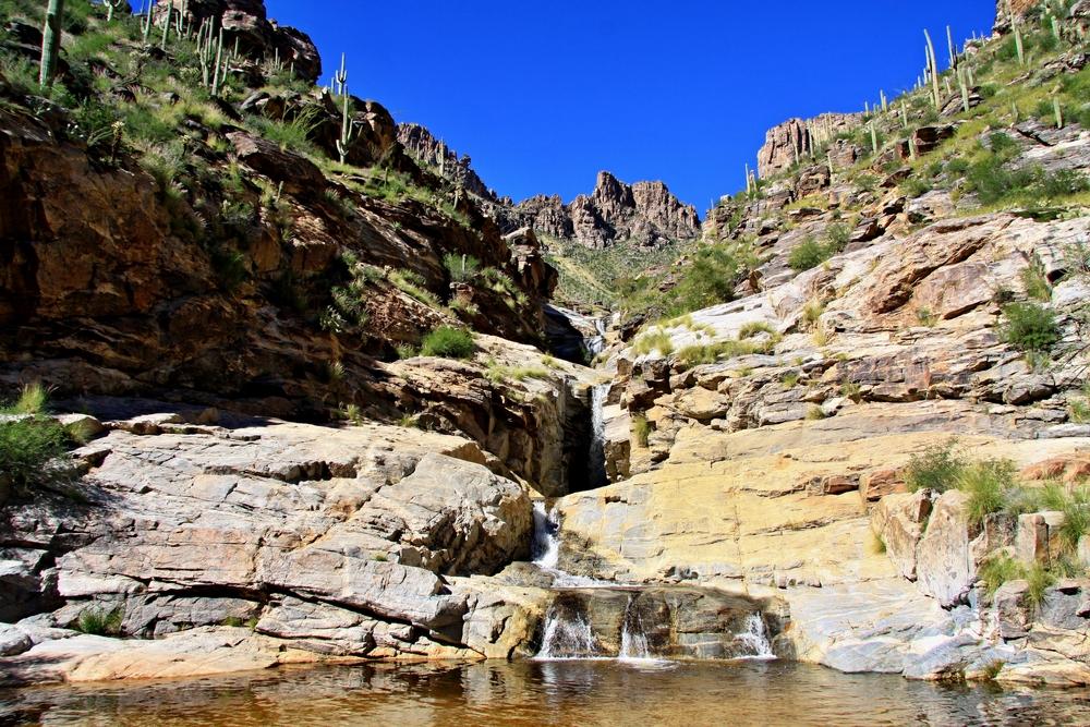 The Seven Falls Trail, Santa Catalina Mountains,Tuscon, Arizona, North America