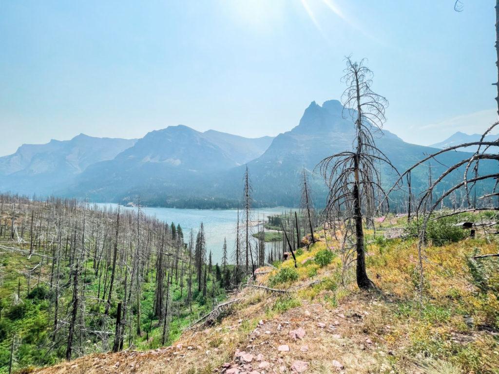 Landscape of Glacier National Park