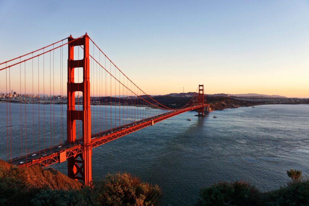 Bay Road Trip: Area Golden Gate Bridge