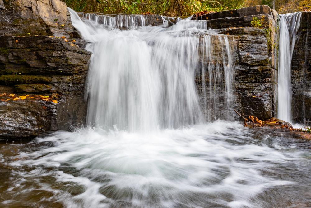 Waterfall at Natural Dam, Arkansas