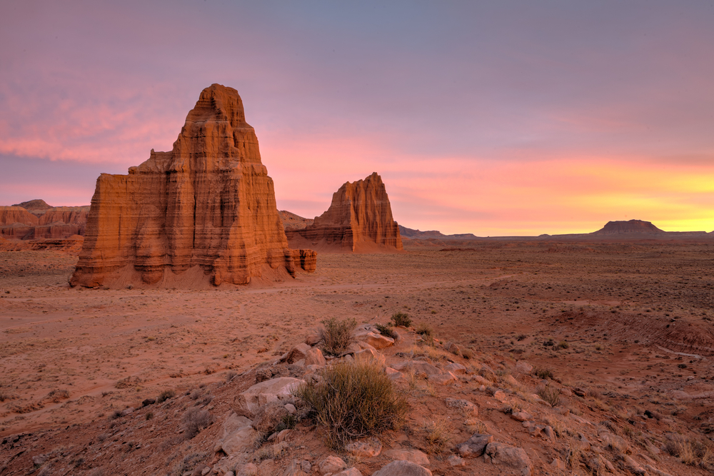 Temple of the Moon and Sun, Capital Reef National Park