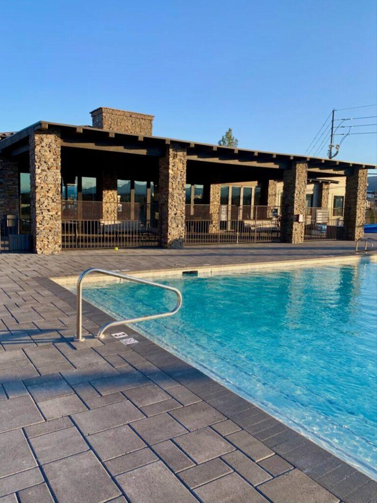 Pool at RV Resort in Arizona