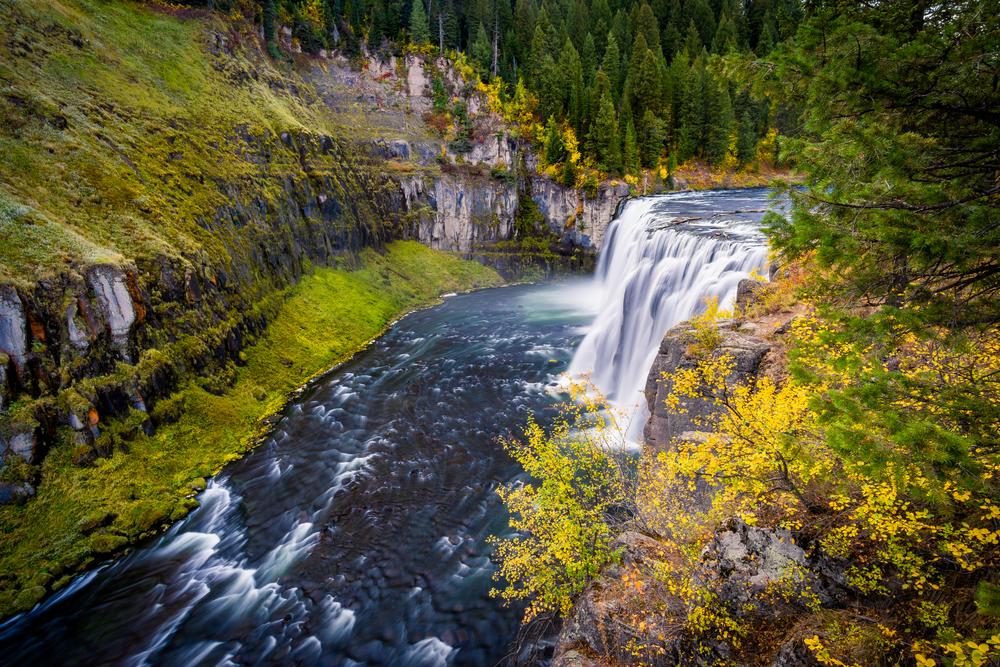 Autumn at the Upper Mesa Falls