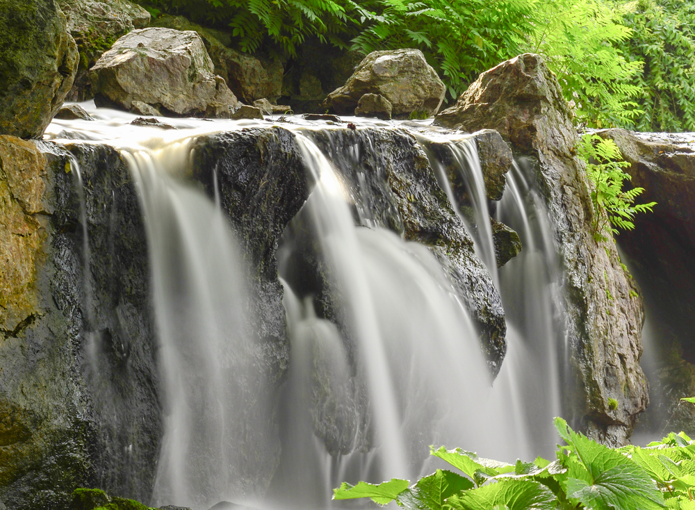 Chicago-area waterfall