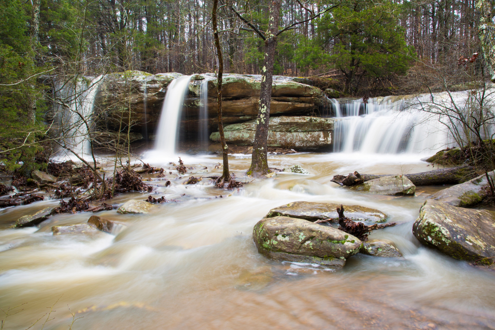 Burden Falls, Shawnee National Forest, Pope Co., IL