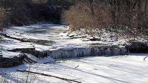 Angel Falls near Lansing, Kansas
