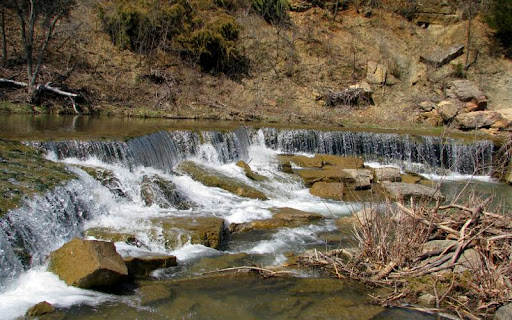Deep Creek Falls, Kansas