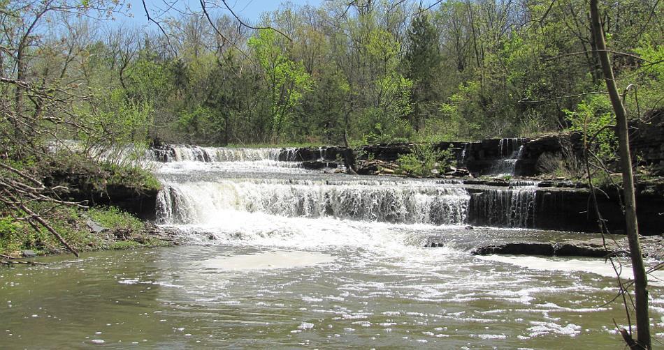 Rock Creek Waterfall