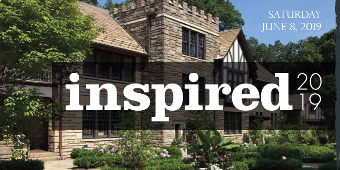 Inspired 2019 is June 8th at Harcourt Manor in Cleveland Heights, OH