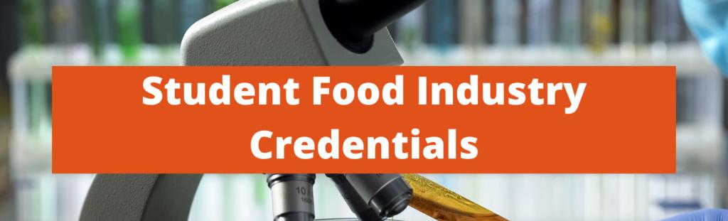 Student Food Industry Website Header