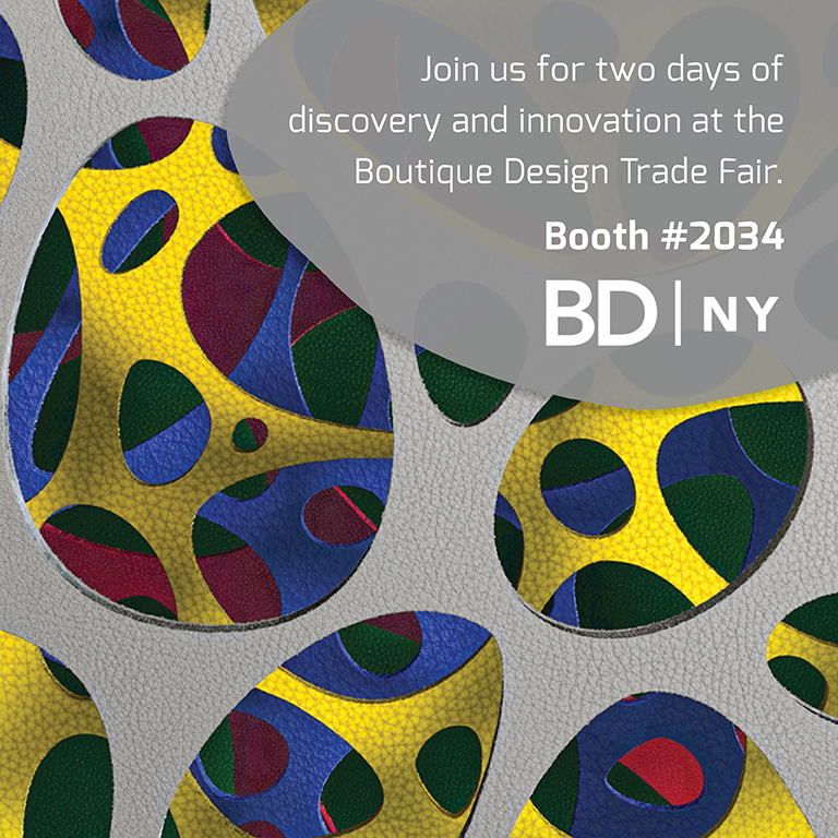 Join us at the Boutique Design Trade Fair in NYC