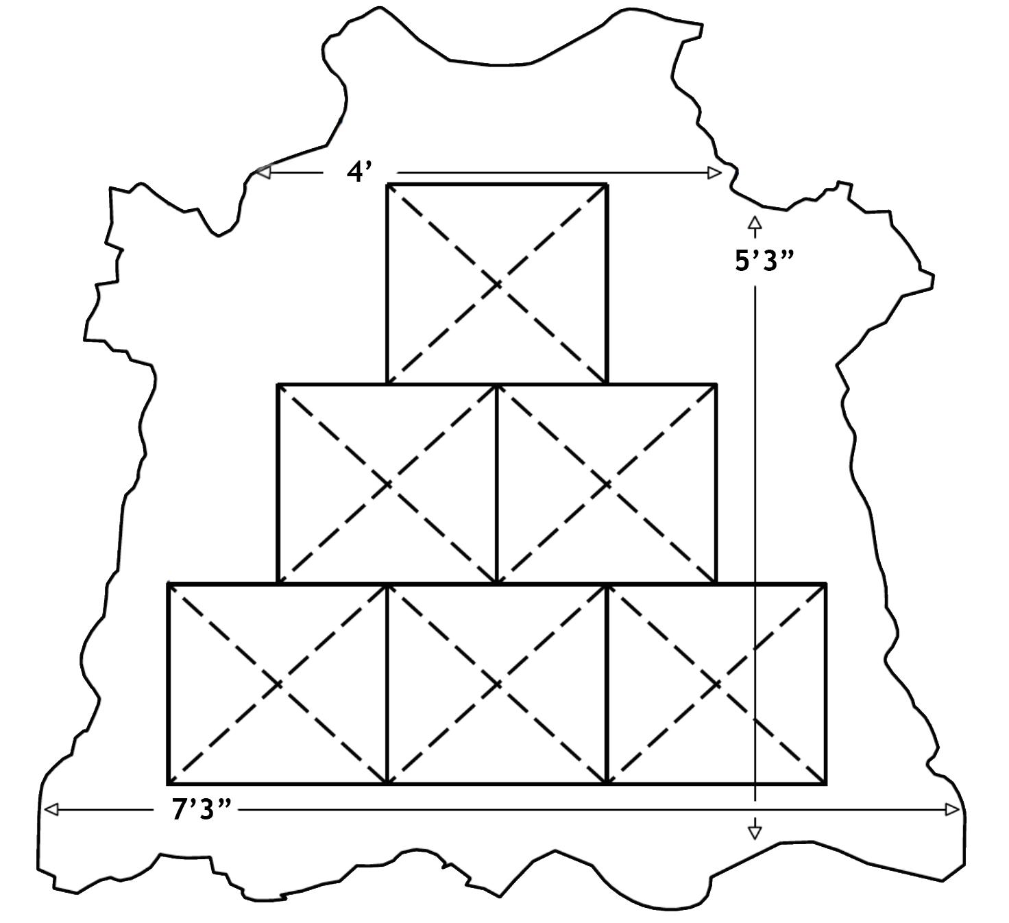 Cortina Leathers Cowhide Panel