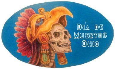 Dia De Muertos Ohio Logo