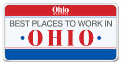 Best Places to Work in Ohio logo