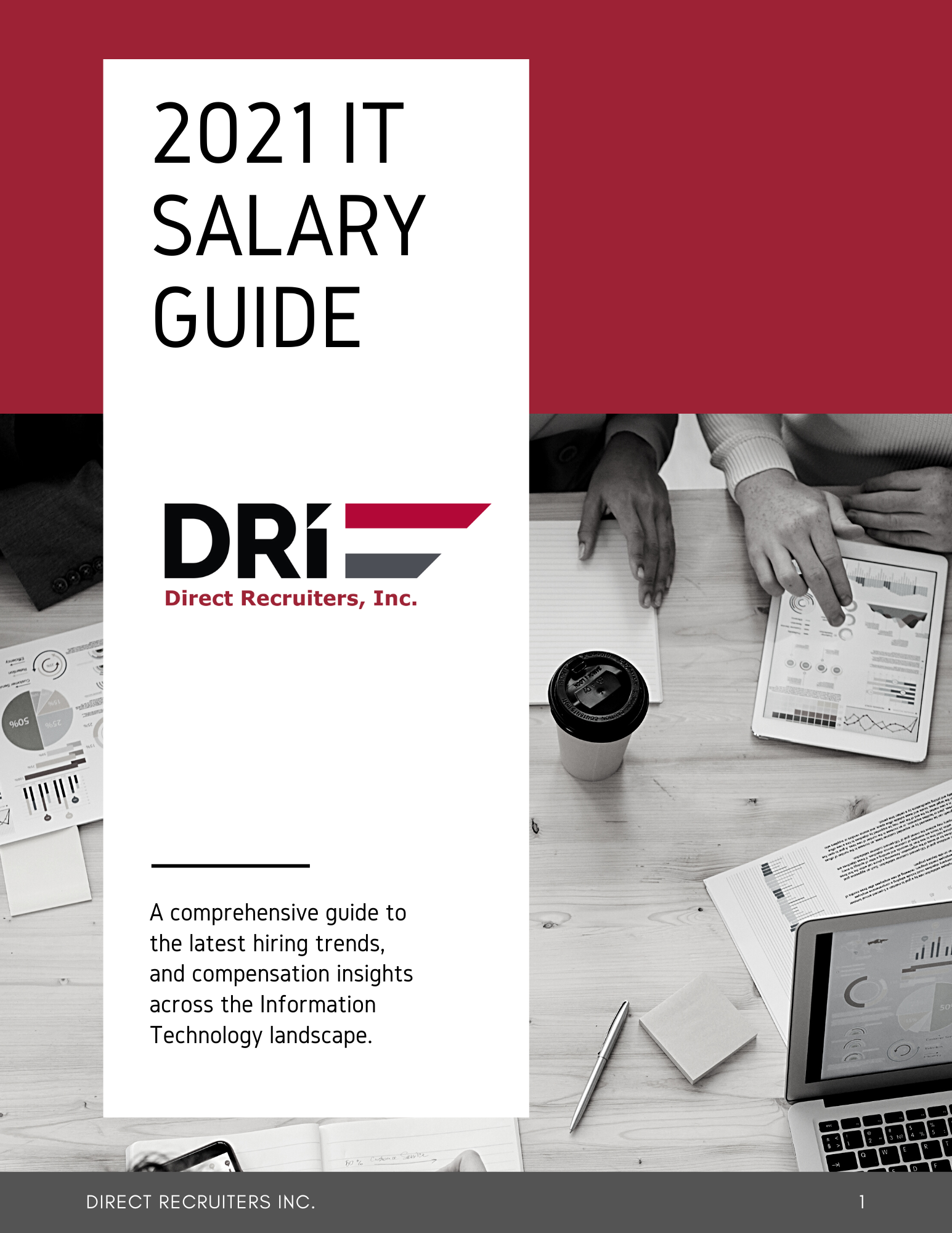 Direct Recruiters 2021 IT Salary Guide