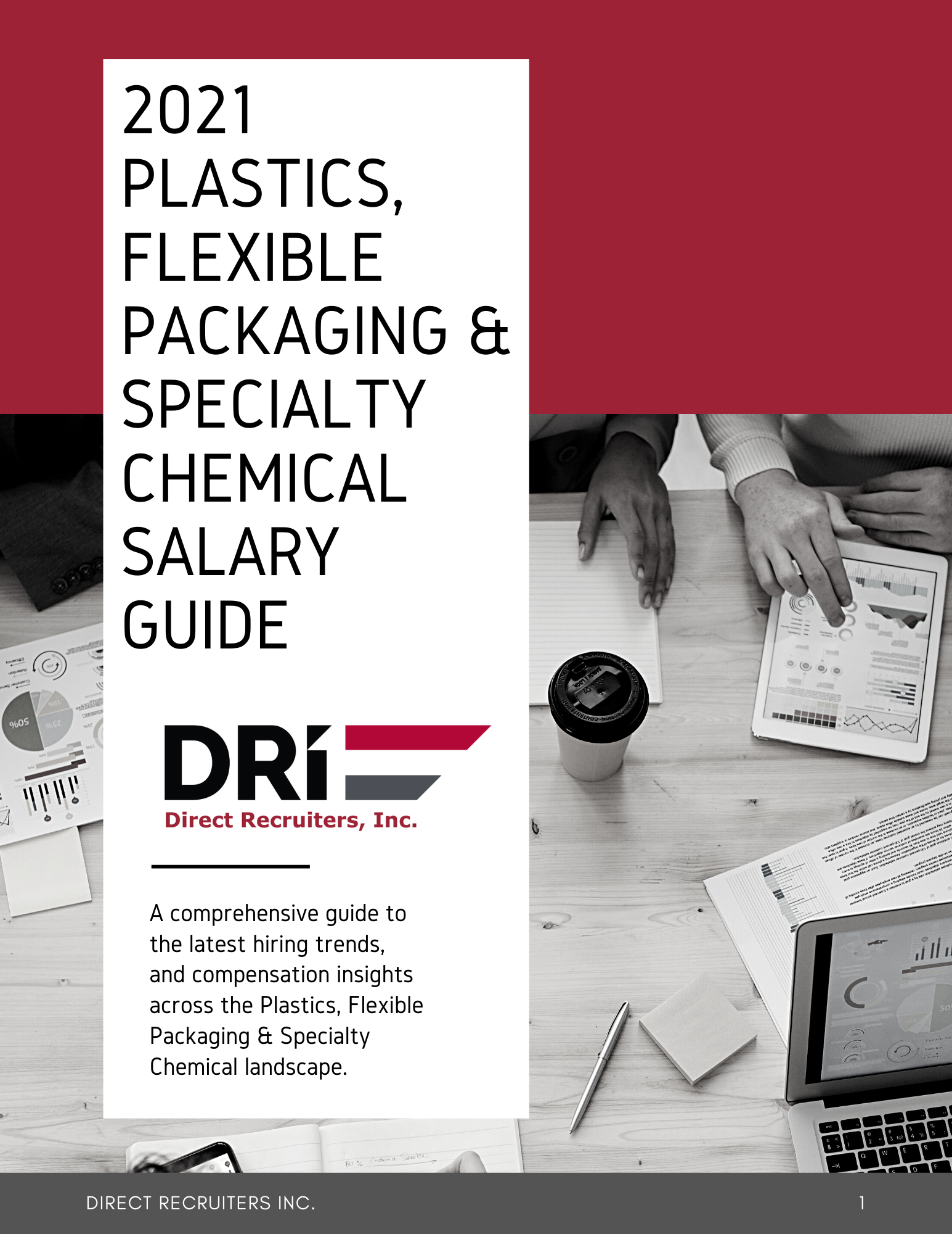 Direct Recruiters 2021 Plastics and Flexible Packaging Salary Guide 5.14.21