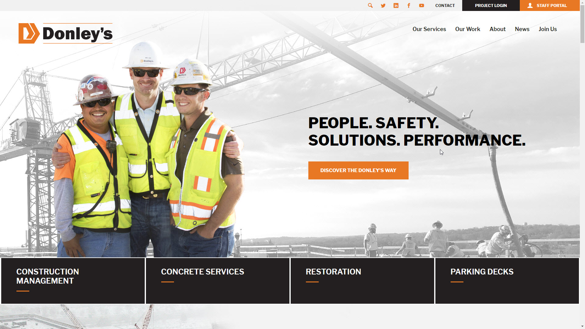 Donley's | Cleveland Construction Company
