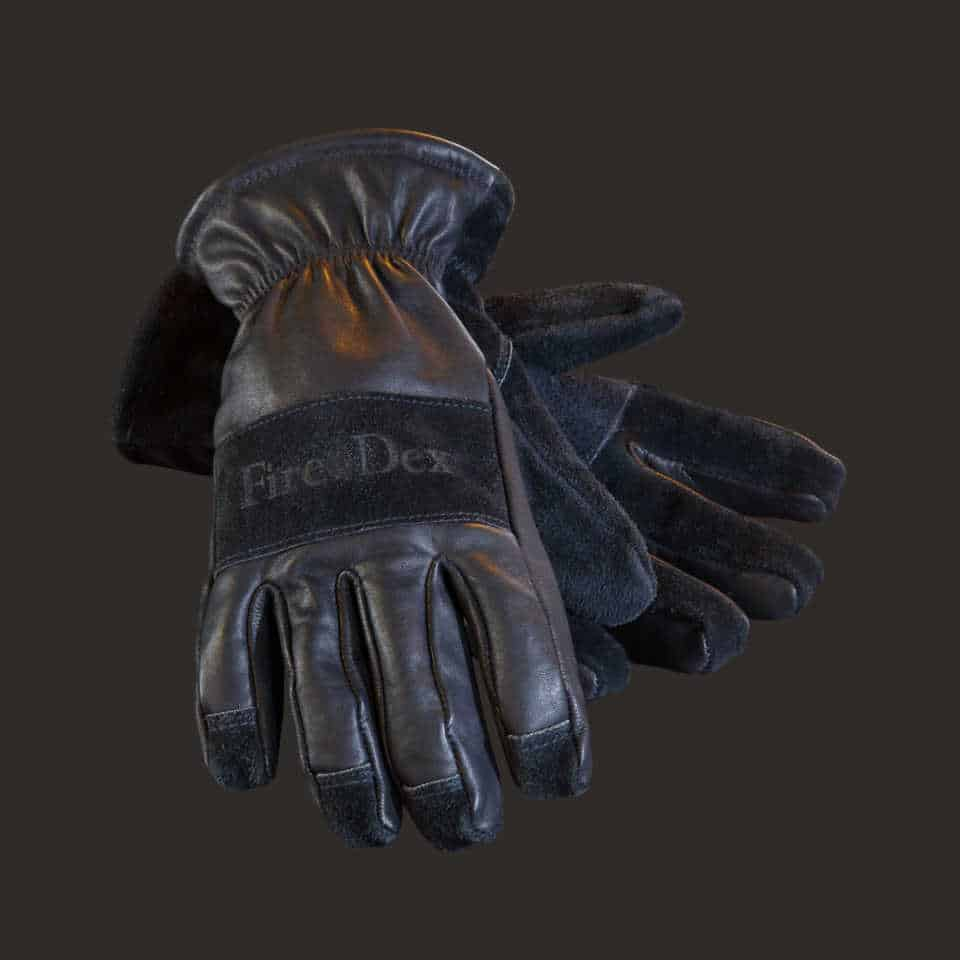 Dex-Pro Leather Fire Glove