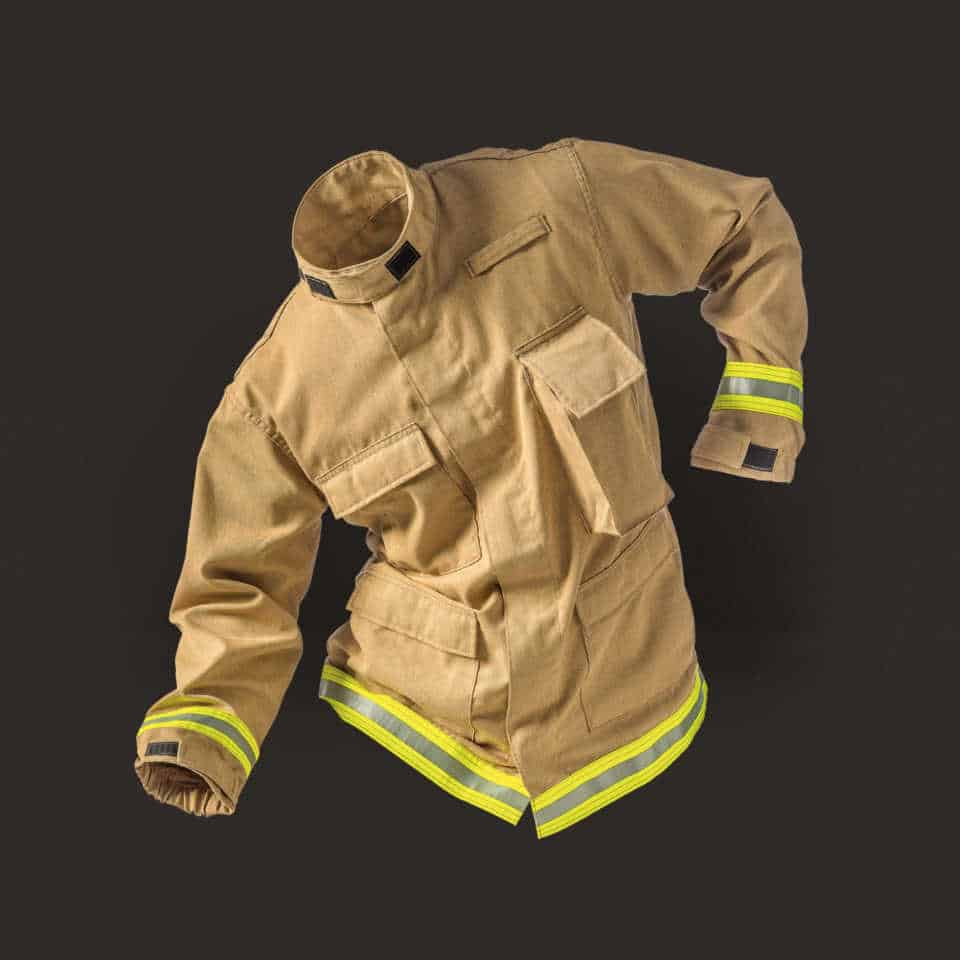 TECGEN51 Fatigue Tan Jacket NFPA1951 & 1977