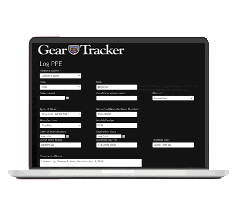 GearTracker Record Keeper