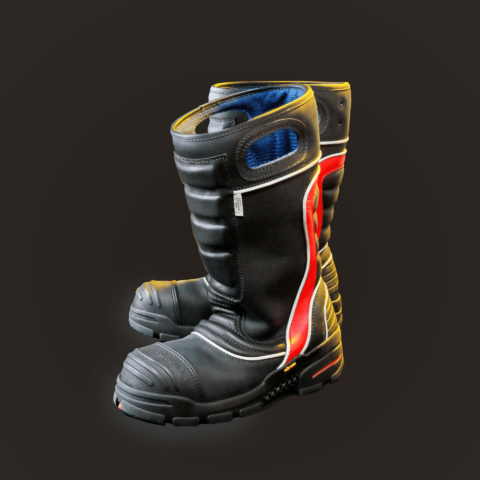 FDXL200 Leather Firefighting Boot