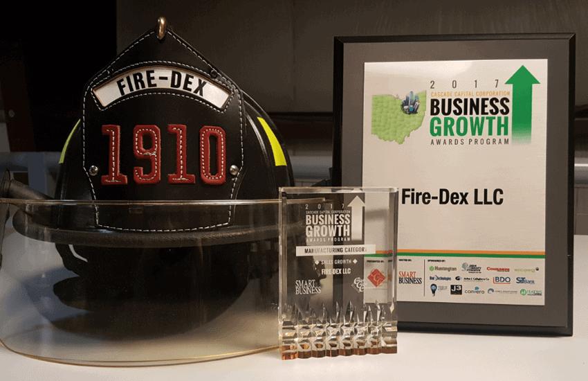 Fire-Dex Cascade Capital Corporation Business Growth Award Honoree