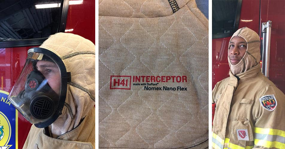 Fire Department Decision To Purchase The Fire-Dex H41 Interceptor™ Hood Collage