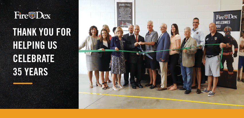 Fire-Dex Expansion Ribbon Cutting Ceremony in Medina, OH