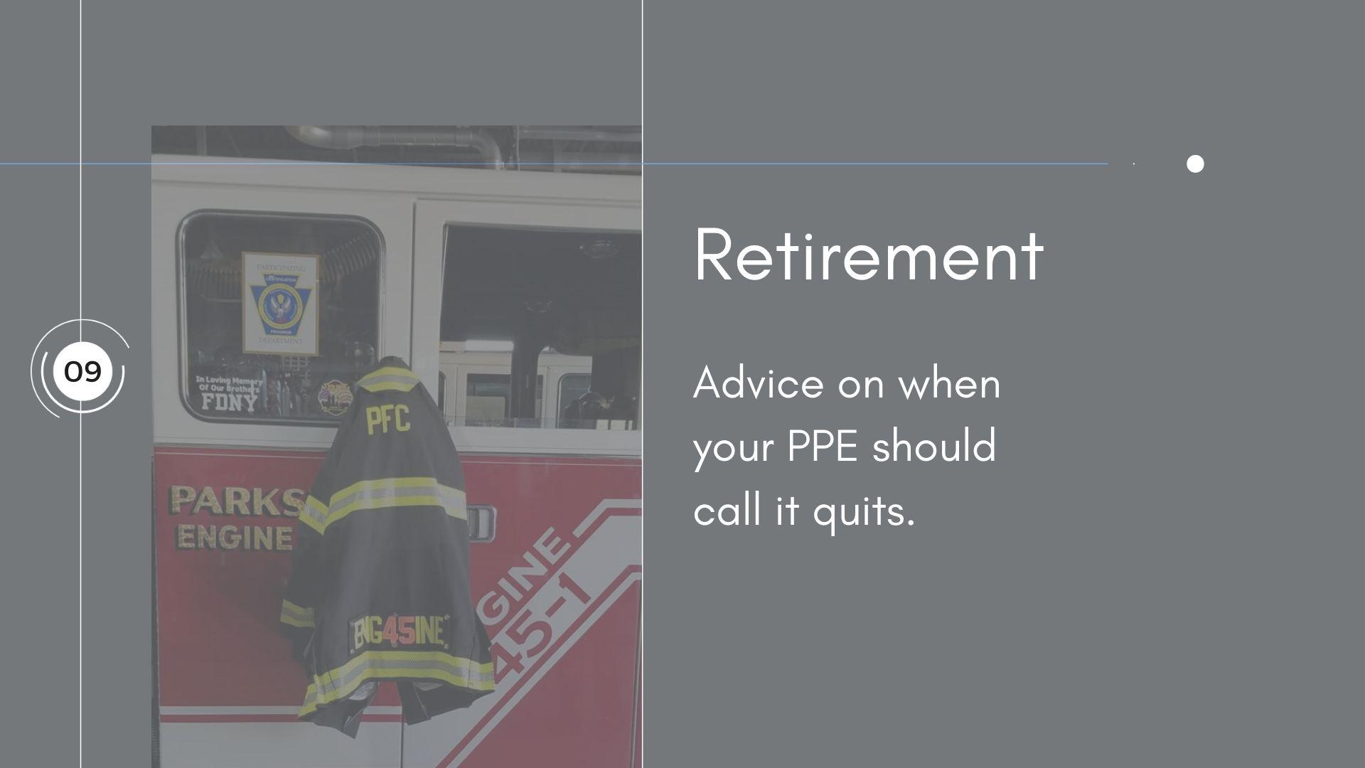 NFPA 1851 - Retirement