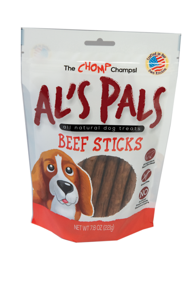 Al's Pals 7.8 oz Beef Dog Stick Treats