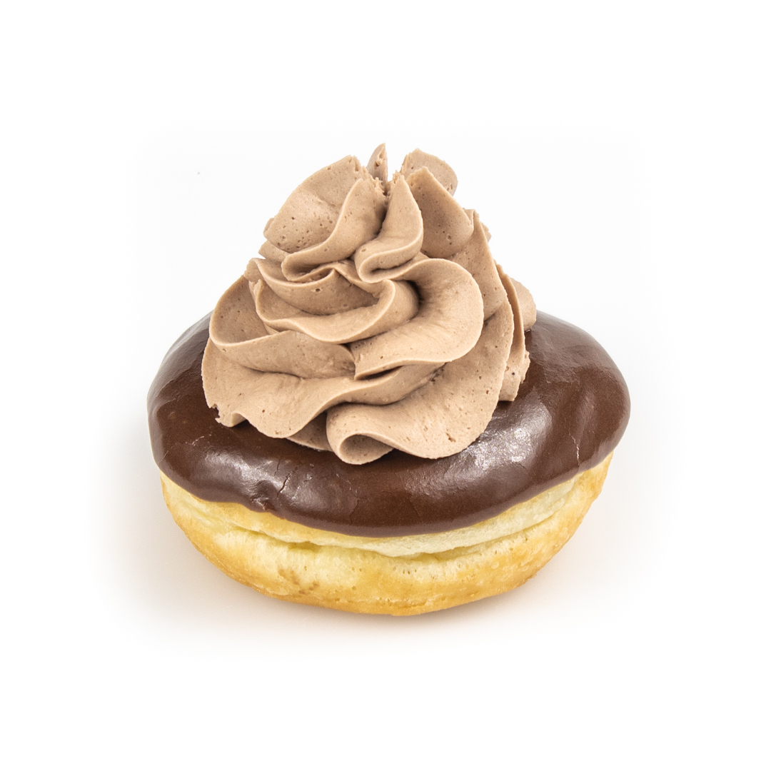 Chocolate Cream Raised Donut