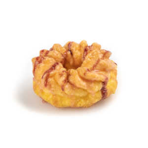 Raspberry Drizzle Cruller