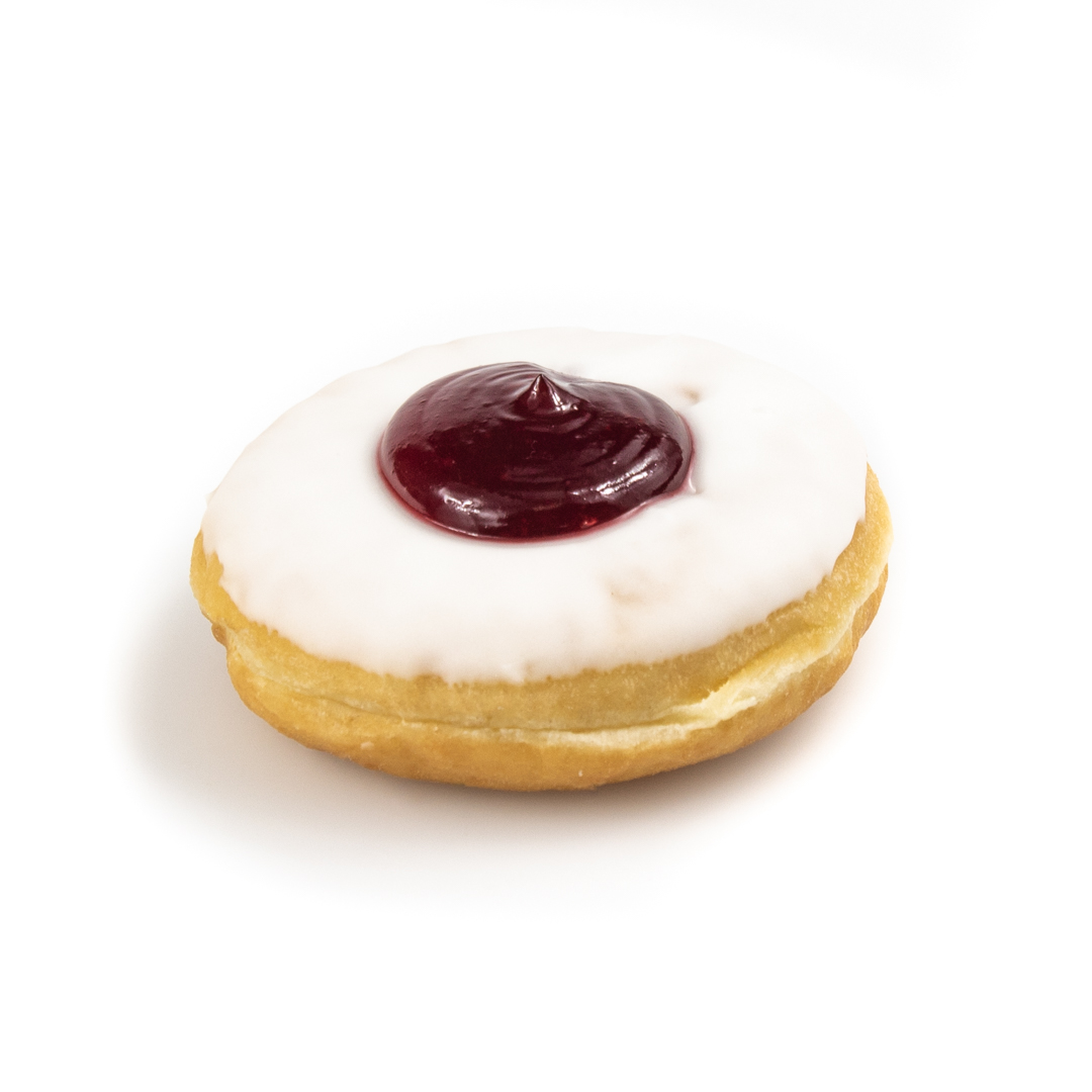 Raspberry Jelly Donut