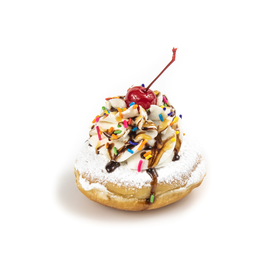 Banana Split Donut