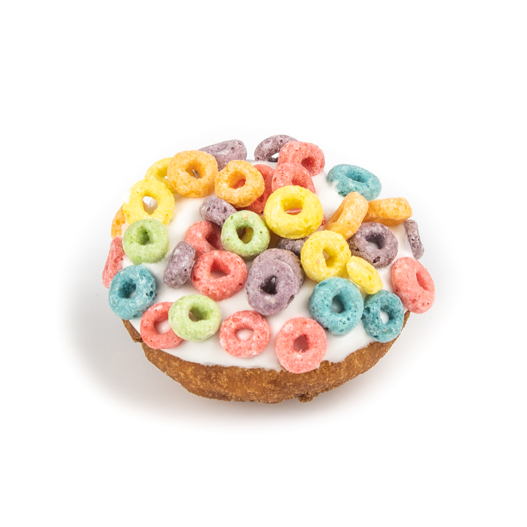Fruit Loops Cake Donut