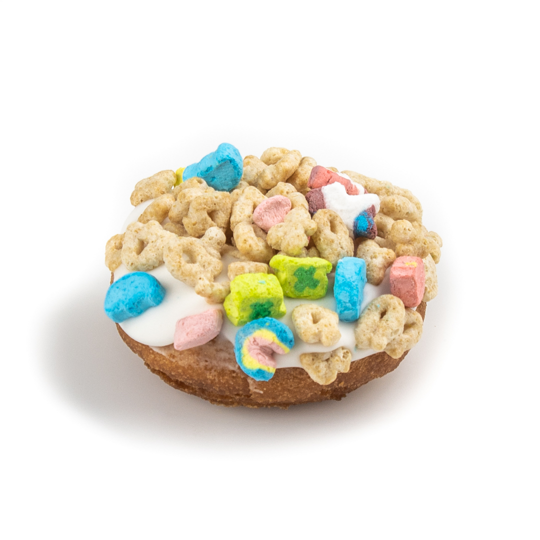 Lucky Charms Cake Donut