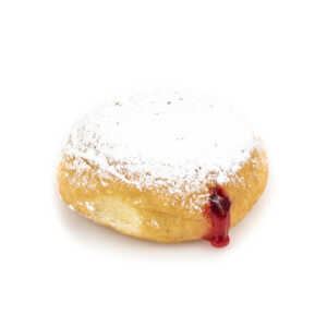 Raspberry Filled Donut