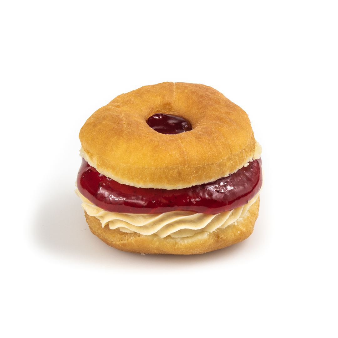 strawberry pbj sandwich donut