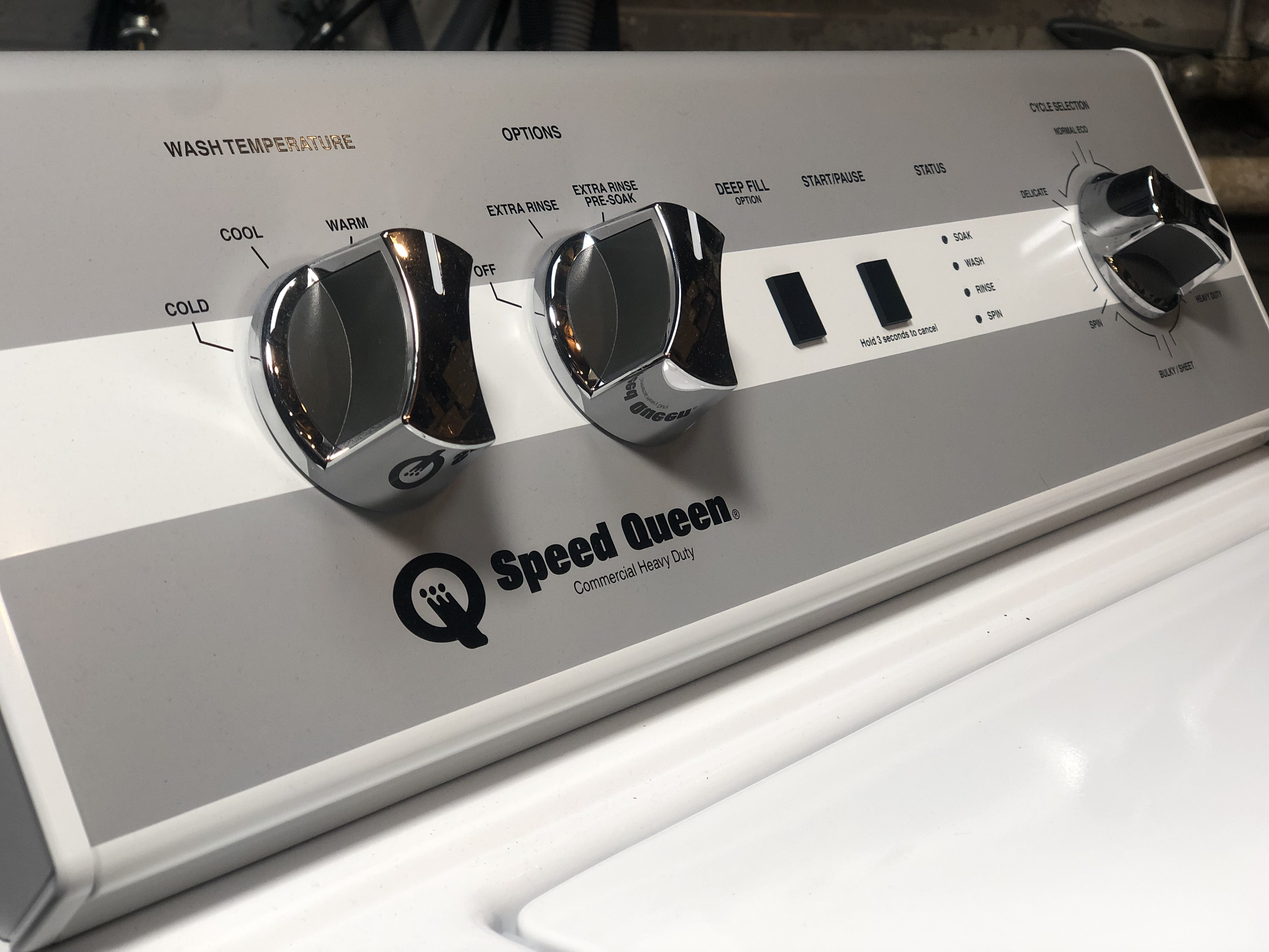 2019 Speed Queen Washer TC5000WN AWN632SP116TW01 - Lorain