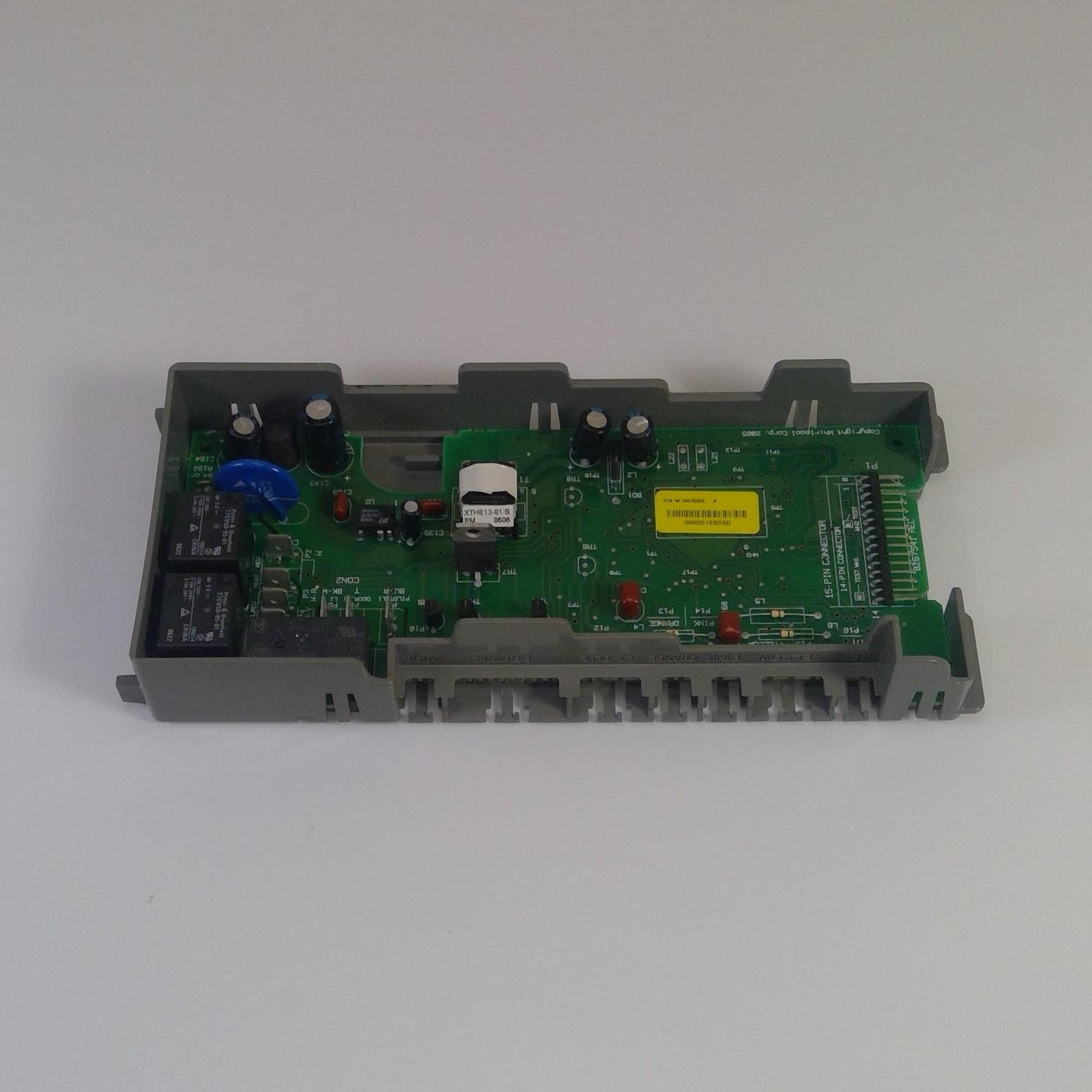 WHIRLPOOL Dishwasher MAIN CONTROL BOARD W10076360 (Rev. A