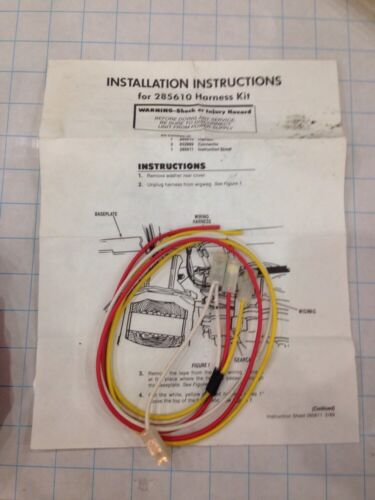 Kenmore Washer Wire Harness on