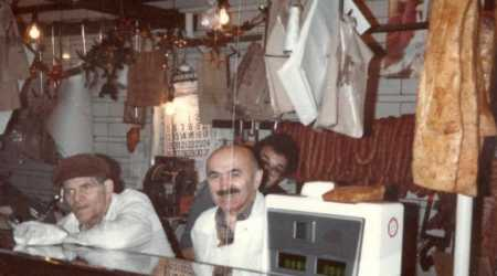 Steve dohar behind the counter