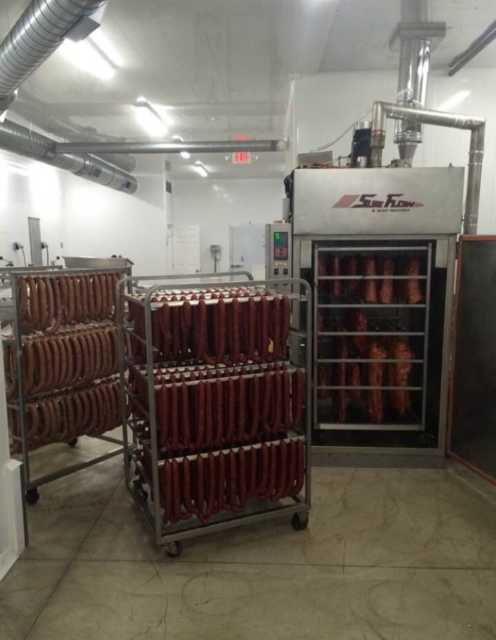 Inside the Parma Smokehouse
