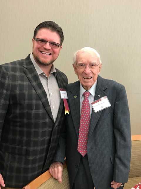 Cooper with Dr. Charlie Kernodle
