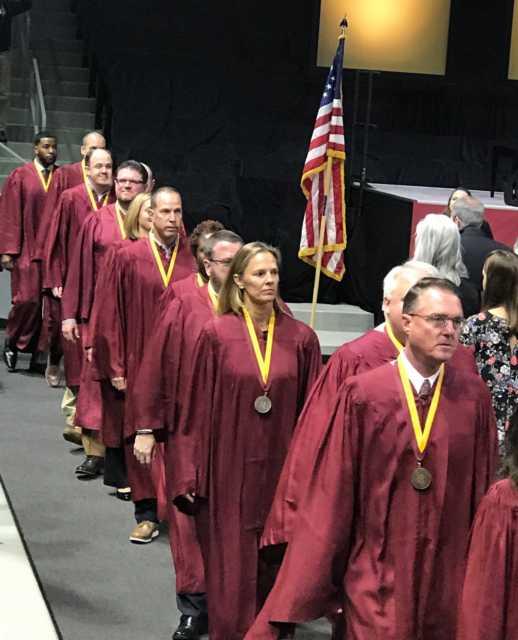 Coop in line of elon alumni