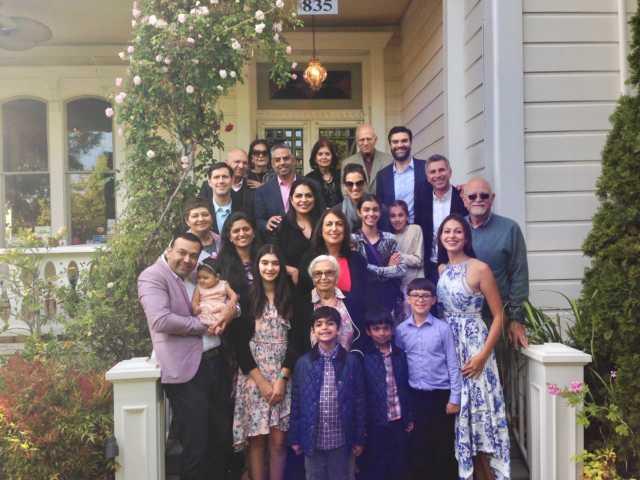 Khosla family picture
