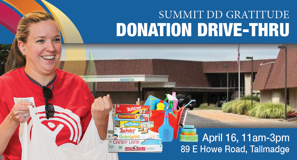 Summit DD Donation Drive-Thru header